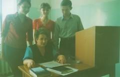 Моя мама со студентами