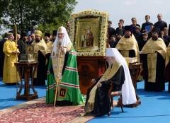 Праздничный молебен в Киеве